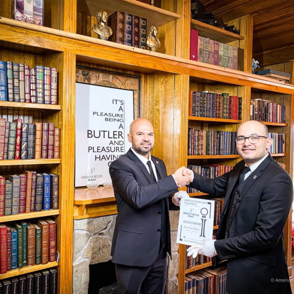Miguel Graduates American Butler School